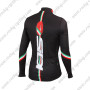 2015 Team SIDI Biking Long Jersey Maillot Black