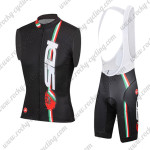 2015 Team SIDI Biking Sleeveless Vest Bib Kit Black