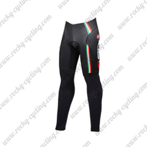 2015 Team SIDI Cycle Long Pants Black
