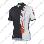 2015 Team SIDI Cycling Jersey White Black