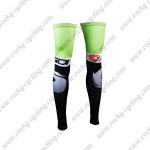 2015 Team SIDI Cycling Leg Warmers Sleeves Green Black