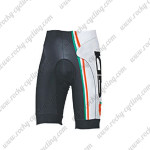 2015 Team SIDI Cycling Shorts White Black