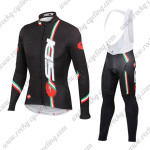 2015 Team SIDI MTB Biking Long Bib Kit Black
