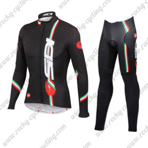 2015 Team SIDI MTB Biking Long Suit Black