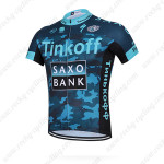 2015 Team Tinkoff SAXO BANK Biking Jersey Blue