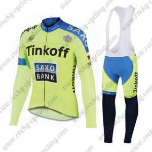 2015 Team Tinkoff SAXO BANK Biking Long Bib Kit