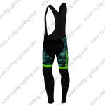 2015 Team Tinkoff SAXO BANK Biking Long Bib Pants Camo Green