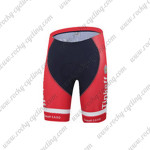 2015 Team Tinkoff SAXO BANK Biking Shorts Red