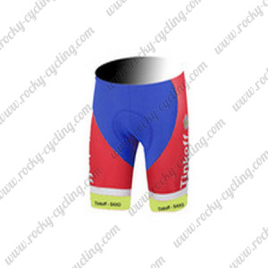 2015 Team Tinkoff SAXO BANK Biking Shorts Red White
