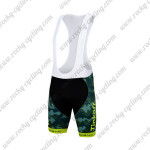 2015 Team Tinkoff SAXO BANK Cycling Bib Shorts Bottoms Camo Yellow