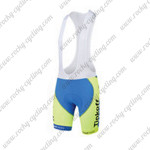 2015 Team Tinkoff SAXO BANK Cycling Bib Shorts Green Blue