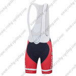 2015 Team Tinkoff SAXO BANK Cycling Bib Shorts Red