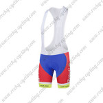 2015 Team Tinkoff SAXO BANK Cycling Bib Shorts Red White