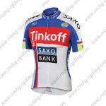 2015 Team Tinkoff SAXO BANK Cycling Jersey Blue Red White