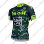 2015 Team Tinkoff SAXO BANK Cycling Jersey Maillot Camo Green