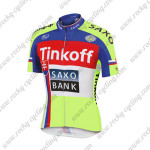 2015 Team Tinkoff SAXO BANK Cycling Jersey Top Maillot Shirt Blue Red