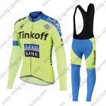 2015 Team Tinkoff SAXO BANK Cycling Long Bib Kit