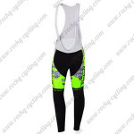 2015 Team Tinkoff SAXO BANK Cycling Long Bib Pants Camo Fluorescent Green