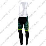 2015 Team Tinkoff SAXO BANK Cycling Long Bib Pants Camo Green