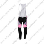 2015 Team Tinkoff SAXO BANK Cycling Long Bib Pants Pink Black