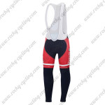 2015 Team Tinkoff SAXO BANK Cycling Long Bib Pants Tights Red