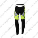 2015 Team Tinkoff SAXO BANK Cycling Long Pants Fluorescent Yellow Black