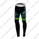 2015 Team Tinkoff SAXO BANK Cycling Long Pants Tights Camo Green