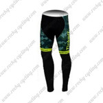 2015 Team Tinkoff SAXO BANK Cycling Long Pants Tights Camo Yellow