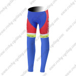 2015 Team Tinkoff SAXO BANK Cycling Long Pants Tights Red Blue