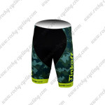 2015 Team Tinkoff SAXO BANK Cycling Shorts Bottoms Camo Yellow