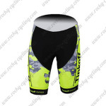 2015 Team Tinkoff SAXO BANK Cycling Shorts Fluorescent Yellow Black