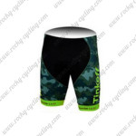 2015 Team Tinkoff SAXO BANK MTB Cycling Shorts Camo Green
