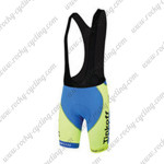 2015 Team Tinkoff SAXO BANK Racing Bib Shorts Green Blue