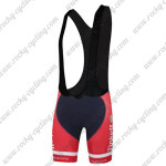 2015 Team Tinkoff SAXO BANK Racing Bib Shorts Red