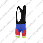 2015 Team Tinkoff SAXO BANK Racing Bib Shorts Red White