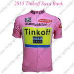 2015 Team Tinkoff SAXO BANK Riding Jersey Pink
