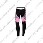 2015 Team Tinkoff SAXO BANK Women's Cycling Long Pants Pink Black