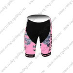 2015 Team Tinkoff SAXO BANK Women's Cycling Shorts Pink Black