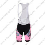 2015 Team Tinkoff SAXO BANK Women's Riding Bib Shorts Pink Black