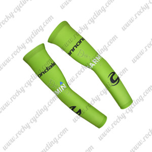 2015 Team cannondale GARMIN Cycling Arm Warmers Sleeves Green