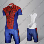2015 The Amazing Spiderman Cycling Bib Kit