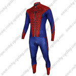 2015 The Amazing Spiderman Cycling Long Sleeve Kit