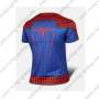2015 The Amazing Spiderman Outdoor Sport Biking T-shirt Red Blue