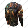 2015 The Avengers Outdoor Sport Long Sleeves Biking T-shirt