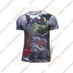 2015 The Avengers Outdoor Sport Wear Cycling T-shirt