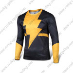 2015 The Black Adam Long Sleeves Biking T-shirt