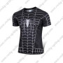 2015 The Black Venom Spiderman Outdoor Sport Outfit Cycling T-shirt