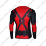 2015 The Deadpool Long Sleeves Riding T-shirt