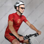 2015 The Flash Man Biking Apparel Red Black
