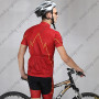 2015 The Flash Man Biking Outfit Red Black